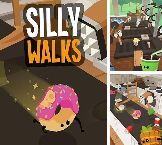 In addition to the game Carnivores: Ice Age for iPhone, iPad or iPod, you can also download Silly walks for free.