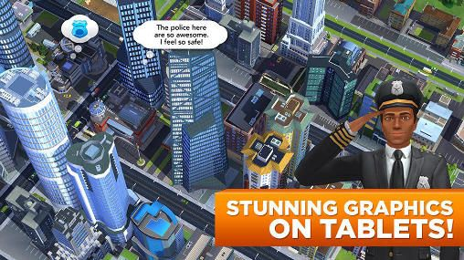 Screenshots of the Sim city: Build it game for iPhone, iPad or iPod.