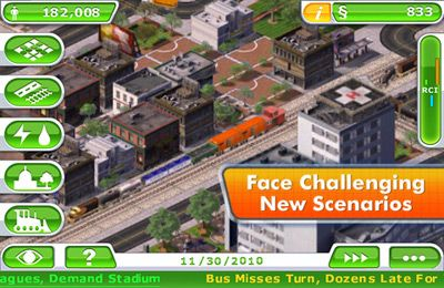 Descarga gratuita de SimCity Deluxe para iPhone, iPad y iPod.