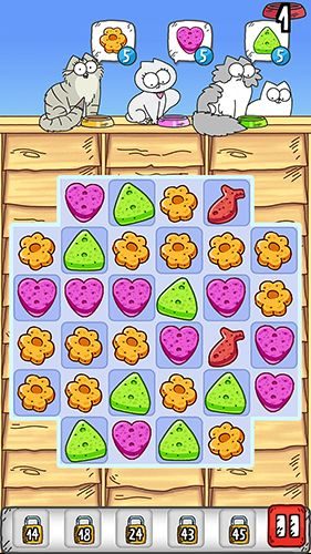 Screenshots vom Spiel Simon's cat: Crunch time für iPhone, iPad oder iPod.