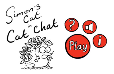 Simon's Cat in 'Cat Chat