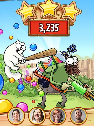 Screenshots vom Spiel Simon's cat: Pop time für iPhone, iPad oder iPod.