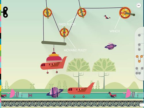 Capturas de pantalla del juego Simple machines para iPhone, iPad o iPod.