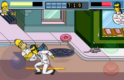Descarga gratuita de The Simpsons Arcade para iPhone, iPad y iPod.