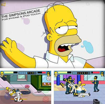 In addition to the game The rhythm of fighters for iPhone, iPad or iPod, you can also download The Simpsons Arcade for free.