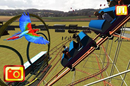 Download Simulate extreme roller coaster iPhone free game.