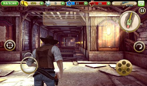 Игра Six guns: Gang showdown для iPhone