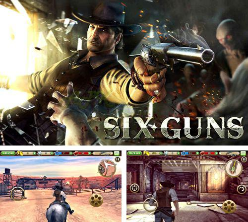 En plus du jeu Le Scaphandrier Poilu pour iPhone, iPad ou iPod, vous pouvez aussi télécharger gratuitement SIx canons: Règlements de comptes entre bandes, Six guns: Gang showdown.