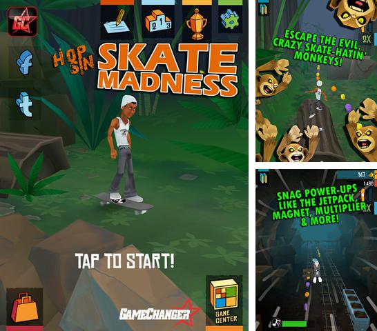 In addition to the game Zombie Scramble for iPhone, iPad or iPod, you can also download Skate Madness for free.