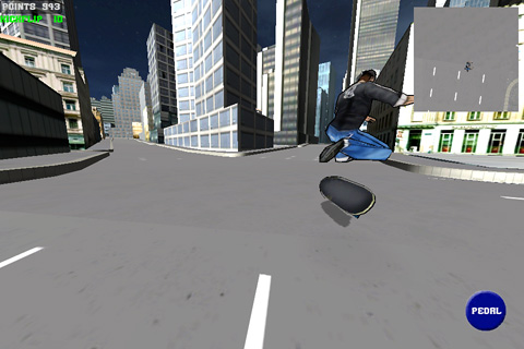 Screenshots do jogo Skate simu para iPhone, iPad ou iPod.