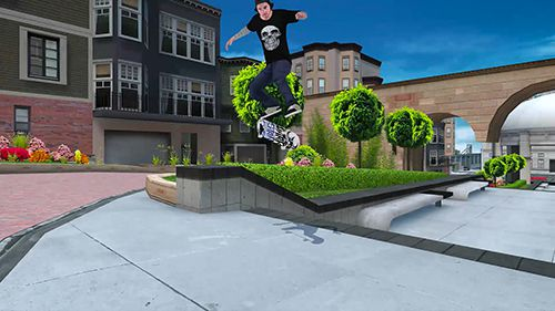 Download Skateboard party 3 ft. Greg Lutzka iPhone free game.