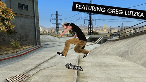 Screenshots of the Skateboard party 3 ft. Greg Lutzka game for iPhone, iPad or iPod.
