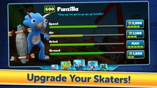 Download Skateboard Slam iPhone free game.