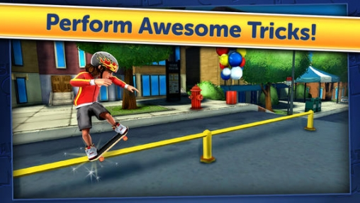 Screenshots of the Skateboard Slam game for iPhone, iPad or iPod.