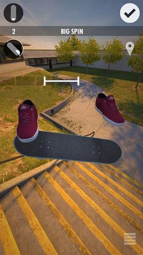 Capturas de pantalla del juego Skater para iPhone, iPad o iPod.