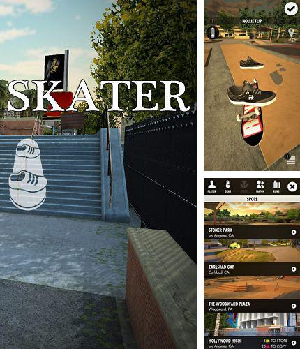 In addition to the game Ghost pop! for iPhone, iPad or iPod, you can also download Skater for free.