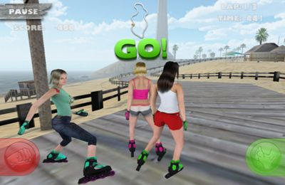 Download Skatin Girlz iPhone free game.