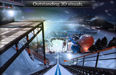 Download Ski Jumping iPhone free game.