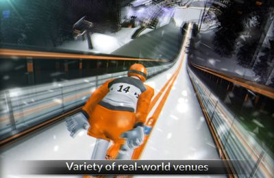 Descarga gratuita de Ski Jumping para iPhone, iPad y iPod.