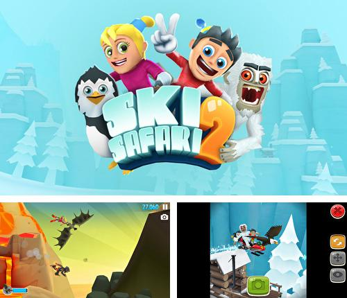 In addition to the game Real Racing 2 for iPhone, iPad or iPod, you can also download Ski safari 2 for free.