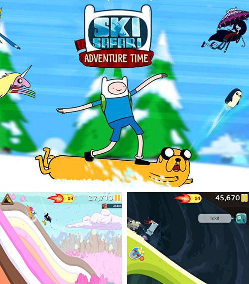 In addition to the game Mike V: Skateboard Party for iPhone, iPad or iPod, you can also download Ski safari: Adventure time for free.