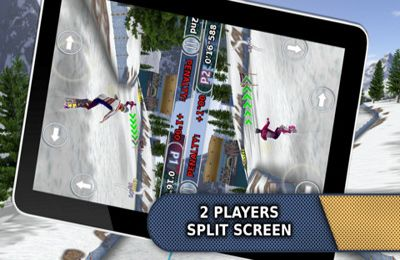 Capturas de pantalla del juego Ski & Snowboard 2013 (Full Version) para iPhone, iPad o iPod.