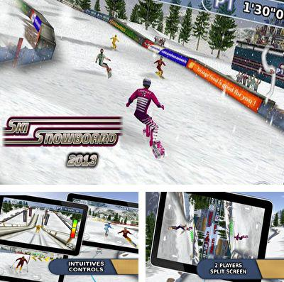 In addition to the game Bus Parking 3D for iPhone, iPad or iPod, you can also download Ski & Snowboard 2013 (Full Version) for free.