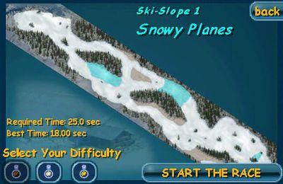 Screenshots of the Ski Sport Pro game for iPhone, iPad or iPod.