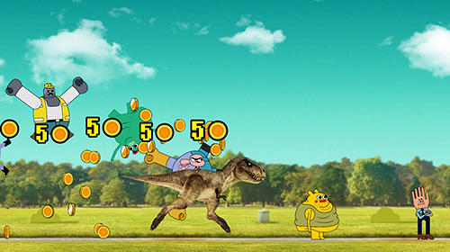 Screenshots of the Skip-a-head: Gumball game for iPhone, iPad or iPod.