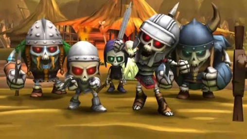 Download Skull Legends iPhone free game.