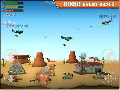 Download Sky Aces 2 iPhone free game.