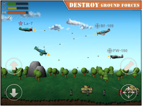 Free Sky Aces 2 download for iPhone, iPad and iPod.