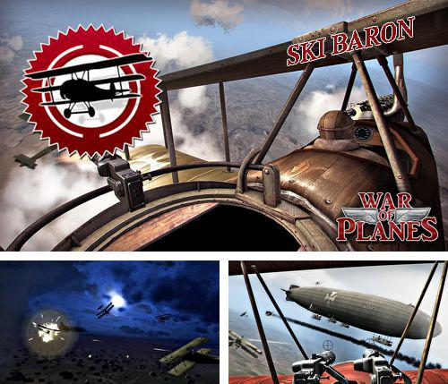 Download Sky baron: War of planes iPhone free game.