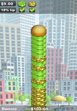 Capturas de pantalla del juego Sky Burger para iPhone, iPad o iPod.