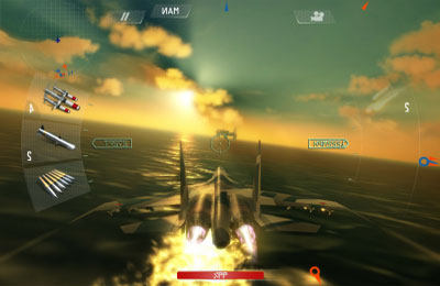Screenshots vom Spiel Sky Gamblers: Air Supremacy für iPhone, iPad oder iPod.