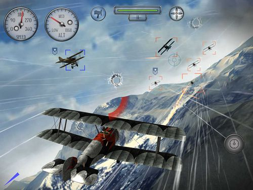 Download Sky gamblers: Rise of glory iPhone free game.