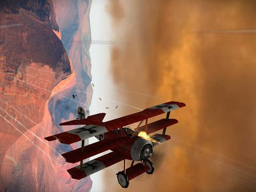 Скриншот игры Sky gamblers: Rise of glory на Айфон.