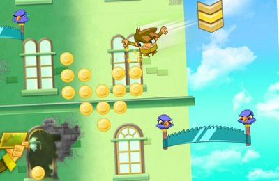 Capturas de pantalla del juego Sky Hero para iPhone, iPad o iPod.
