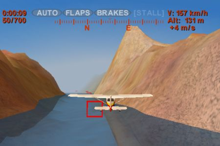 Download Sky racer iPhone free game.