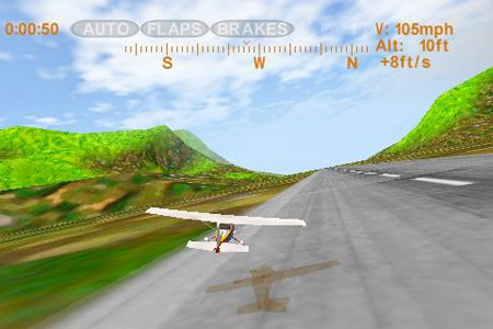 Descarga gratuita de Sky racer para iPhone, iPad y iPod.