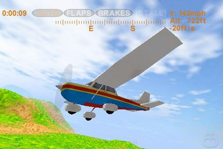 Capturas de pantalla del juego Sky racer para iPhone, iPad o iPod.