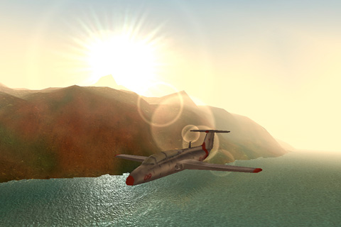 Screenshots of the Sky Racer 2 game for iPhone, iPad or iPod.