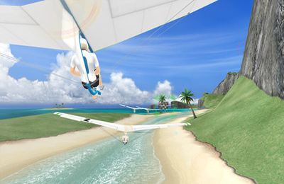 Free Sky Rider download for iPhone, iPad and iPod.