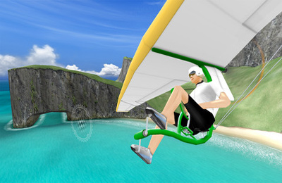 Screenshots of the Sky Rider game for iPhone, iPad or iPod.