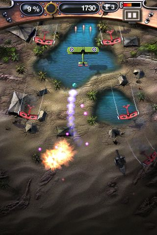 Download Sky smash 1918 iPhone free game.