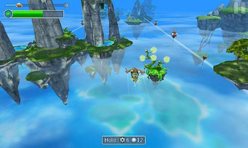Screenshots of the Sky to fly: Faster than wind game for iPhone, iPad or iPod.