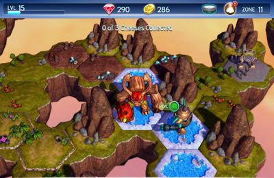 Screenshots vom Spiel Skylanders Battlegrounds für iPhone, iPad oder iPod.