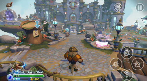 Écrans du jeu Skylanders: Trap team pour iPhone, iPad ou iPod.