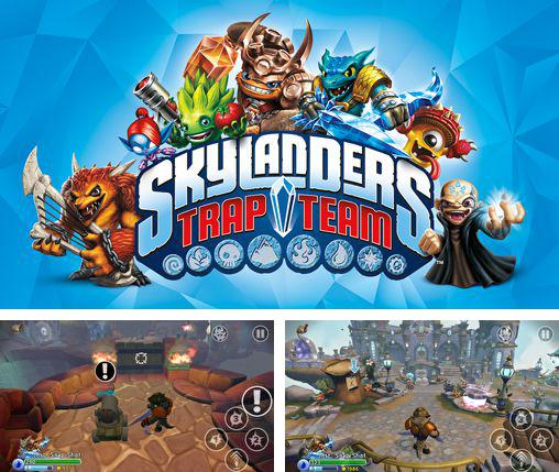 In addition to the game Infected for iPhone, iPad or iPod, you can also download Skylanders: Trap team for free.