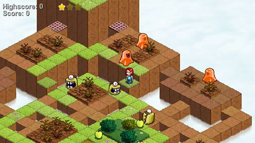 Screenshots vom Spiel Skyling: Garden defense für iPhone, iPad oder iPod.